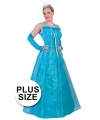 Plus size carnavalskostuum koningin voor dames