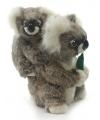 Luxe pluche koala met baby 28 cm