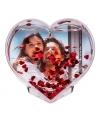 Fotolijst met hartjesconfetti