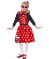 Carnaval Hello Kitty jurkje rood