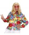 Flower Power shirt gekleurd