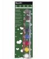 Hobby-Allesverf acryverf acht  kleuren
