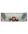 Muurdecoratie Hollywood banier 74 x 220 cm