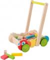 Educatieve houten loopwagen