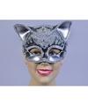 Zwart oogmasker kat