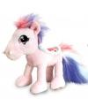 Keel Toys pluche paard  knuffel lichtroze 18 cm