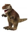 Pluche knuffel T-Rex dinosaurus 30 cm