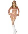 Dames sixties jurkje kort model