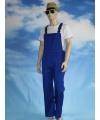 Verstelbare tuinbroek voor kids blauw