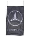 Zwarte garage vlag Mercedes