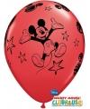 Mickey Mouse kinderfeestje ballonnen 6x