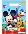 Feestzakjes kinderfeestje Mickey Mouse