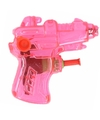 Mini waterpistool roze 7 cm