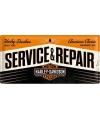 Nostalgisch muurplaatje service & repair