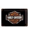 Officieel Harley Davidson logo van metaal
