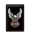 Mooie muurdecoratie van Harley Davidson motoren