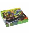 Verjaardag themafeest Ninja Turtles servetten