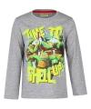 Ninja Turtles t-shirt grijs