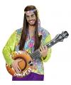 Vrolijk gekleurde opblaasbare banjo