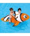 Grote opblaasbare clown vis 157 cm