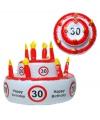 30 jaar versierings taart