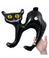 Zwarte katten opblaasbaar 41 cm