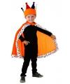 Koningdag cape oranje voor kids