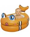 Babybadje in de vorm van een vis
