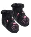 Fun for feet pantoffel sokken zwarte kat