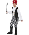 Carnaval piratenpak kinderen