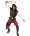 Carnaval piraten kostuum heren