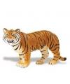 Plastic Bengaalse tijgerin bruin speelfiguur 14 cm