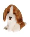 Pluche Basset honden 13 cm