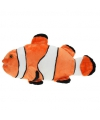 Pluche clownsvis met kraalogen 49 cm