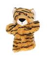 Pluche tijger handpop 22 cm
