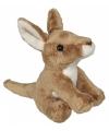 Knuffel kangoeroetje 15 cm