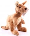 Knuffel kangoeroe 19 cm