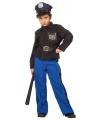 Politie carnavalskleding kind