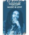 Reggea Bob Marley poster 61 x 91 cm