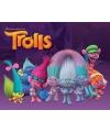 Poster Trolls characters Mini poster 40 x 50 cm