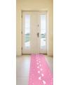 Roze loper voor kraamfeest meisje