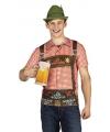 Oktoberfest Anton t-shirt met print