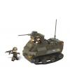 Sluban pantserwagen met geweer 28,5 x 21,2 cm