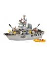 Sluban bouwpakket torpedobootjager 57 x 38 cm