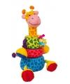 Knuffel insteek giraffe 24 cm