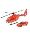 Reddings helikopter en auto speelset rood