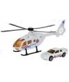 Reddings helikopter en auto speelset wit