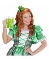 Dames Saint Patricks Day hoedje verkleedaccessoire