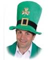 St Patrick day hoed klavertje drie