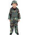 Carnaval camouflage kostuum kind